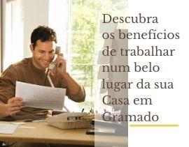 Home office em Gramado