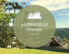 Terrenos à venda no Alphaville em Gramado
